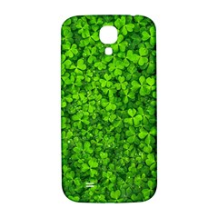 Shamrock Clovers Green Irish St  Patrick Ireland Good Luck Symbol 8000 Sv Samsung Galaxy S4 I9500/i9505  Hardshell Back Case