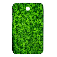 Shamrock Clovers Green Irish St  Patrick Ireland Good Luck Symbol 8000 Sv Samsung Galaxy Tab 3 (7 ) P3200 Hardshell Case