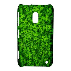 Shamrock Clovers Green Irish St  Patrick Ireland Good Luck Symbol 8000 Sv Nokia Lumia 620