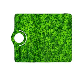 Shamrock Clovers Green Irish St  Patrick Ireland Good Luck Symbol 8000 Sv Kindle Fire Hdx 8 9  Flip 360 Case