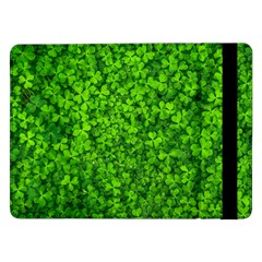 Shamrock Clovers Green Irish St  Patrick Ireland Good Luck Symbol 8000 Sv Samsung Galaxy Tab Pro 12 2  Flip Case