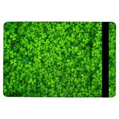 Shamrock Clovers Green Irish St  Patrick Ireland Good Luck Symbol 8000 Sv Ipad Air Flip