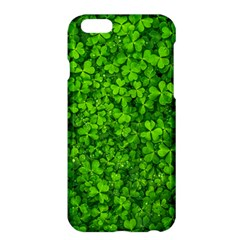 Shamrock Clovers Green Irish St  Patrick Ireland Good Luck Symbol 8000 Sv Apple Iphone 6 Plus/6s Plus Hardshell Case