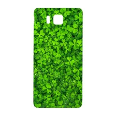 Shamrock Clovers Green Irish St  Patrick Ireland Good Luck Symbol 8000 Sv Samsung Galaxy Alpha Hardshell Back Case