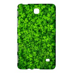 Shamrock Clovers Green Irish St  Patrick Ireland Good Luck Symbol 8000 Sv Samsung Galaxy Tab 4 (8 ) Hardshell Case