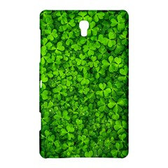 Shamrock Clovers Green Irish St  Patrick Ireland Good Luck Symbol 8000 Sv Samsung Galaxy Tab S (8.4 ) Hardshell Case
