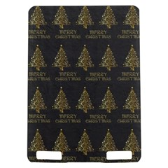 Merry Christmas Tree Typography Black And Gold Festive Kindle Touch 3G