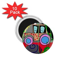 Tractor 1.75  Magnets (10 pack)