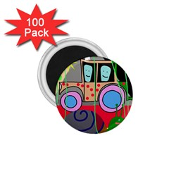 Tractor 1.75  Magnets (100 pack)