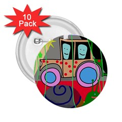 Tractor 2.25  Buttons (10 pack)