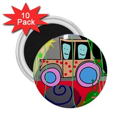 Tractor 2.25  Magnets (10 pack)