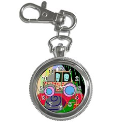 Tractor Key Chain Watches