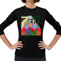 Tractor Women s Long Sleeve Dark T-Shirts