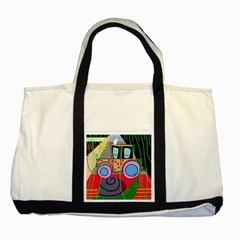 Tractor Two Tone Tote Bag