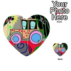 Tractor Playing Cards 54 (Heart)
