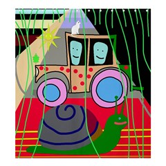 Tractor Shower Curtain 66  x 72  (Large)