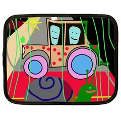 Tractor Netbook Case (XL)