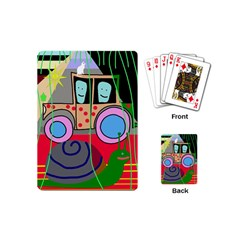 Tractor Playing Cards (Mini)
