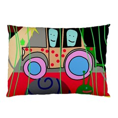 Tractor Pillow Case (Two Sides)