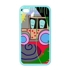 Tractor Apple iPhone 4 Case (Color)