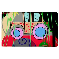 Tractor Apple iPad 3/4 Flip Case