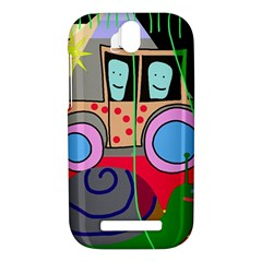 Tractor HTC One SV Hardshell Case