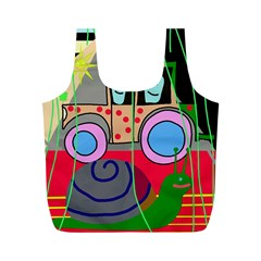 Tractor Full Print Recycle Bags (M)