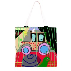 Tractor Grocery Light Tote Bag