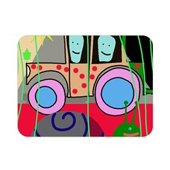 Tractor Double Sided Flano Blanket (Mini)
