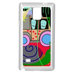 Tractor Samsung Galaxy Note 4 Case (White)