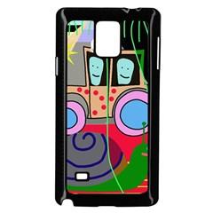 Tractor Samsung Galaxy Note 4 Case (Black)