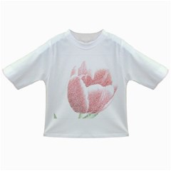 Red Tulip pencil drawing Infant/Toddler T-Shirts