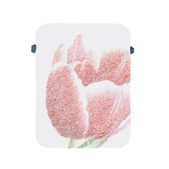 Red Tulip pencil drawing Apple iPad 2/3/4 Protective Soft Cases