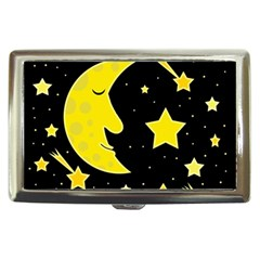 Sleeping moon Cigarette Money Cases