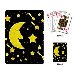 Sleeping moon Playing Card