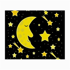 Sleeping moon Small Glasses Cloth (2-Side)