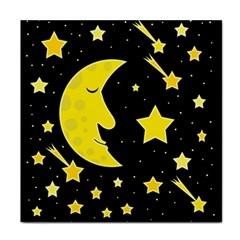 Sleeping moon Face Towel
