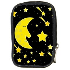 Sleeping moon Compact Camera Cases