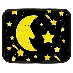 Sleeping moon Netbook Case (XXL)
