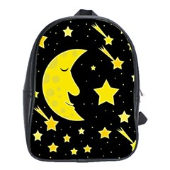 Sleeping moon School Bags(Large)