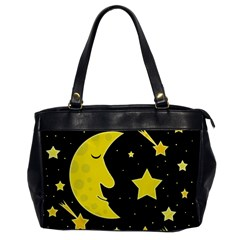 Sleeping moon Office Handbags