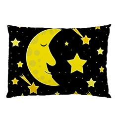Sleeping moon Pillow Case (Two Sides)