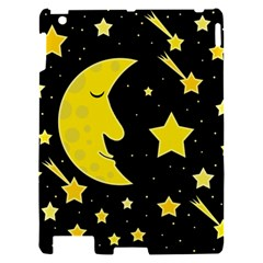 Sleeping moon Apple iPad 2 Hardshell Case