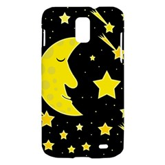 Sleeping moon Samsung Galaxy S II Skyrocket Hardshell Case