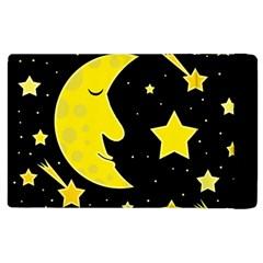 Sleeping moon Apple iPad 3/4 Flip Case
