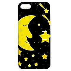 Sleeping moon Apple iPhone 5 Hardshell Case with Stand