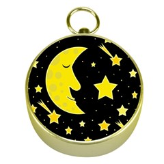 Sleeping moon Gold Compasses