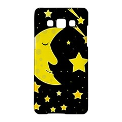 Sleeping moon Samsung Galaxy A5 Hardshell Case