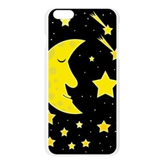 Sleeping moon Apple Seamless iPhone 6 Plus/6S Plus Case (Transparent)