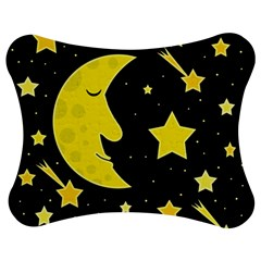 Sleeping Moon Jigsaw Puzzle Photo Stand (bow)
